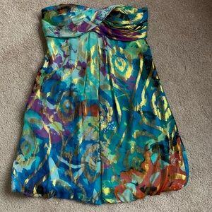 Beautiful strapless mini dress